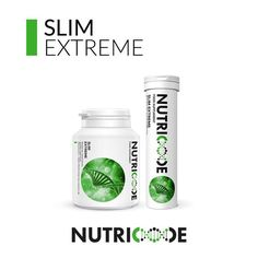"""Nutricode Slim Extreme Code: 801002 WebShop: http://membersfm.com/michelle-brandon Capacity: 180 COATED TABLETS (2 x 103.5g) + 30 EFFERVESCENT TABLETS (2 x 67.5g) FOOD SUPPLEMENT which is a composition of ingredients supporting weight loss by reducing appetite. The unique """"All Day Weight Control"""" system has been designed for all who wish to reduce weight rationally. It also helps maintain beautiful skin whilst using weight loss diets. This product is suitable for vegetarians and vegans!"""