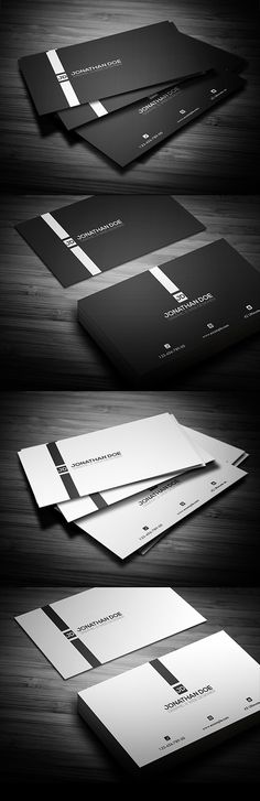 Minimal Business Card                                                                                                                                                                                 Mais