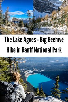 If you're visiting Lake Louise and you love hiking the Lake Agnes - Big Beehive hike is a great combo. Views of Lake Louise from up high are superb too. Alberta Canada, Banff National Park, National Parks, Vancouver, Places To Travel, Places To Go, Canadian Travel, Canadian Rockies, Alberta Travel