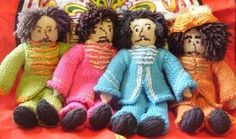 The Beatles. | The 25 Most British Things That Have Ever Been Knitted