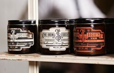 The Iron Society men's grooming products
