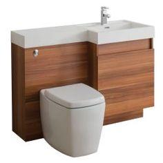 TC Trafalgar Bathroom Vanity Unit & WC Unit 1200 & Basin