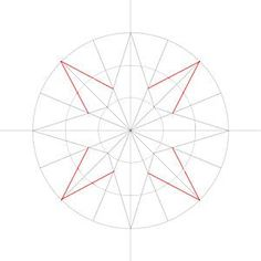 How to Draw a Compass Rose with Step-by-Step Pictures - wikiHow