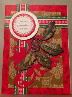 #annagriffininc  @Anna Griffin, Inc.   My Christmas cards I made! <3