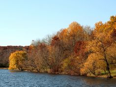 No matter how you navigate the trails, the fall colors at Palos can't be beat.