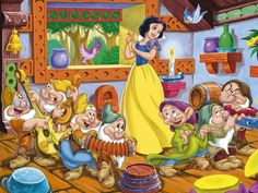 Snow White and the Seven Dwarfs Forest   SNOW WHITE AND THE SEVEN DWARFS