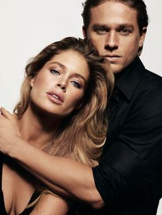 Doutzen Kroes and Charlie Hunnam for 'Reveal' by Calvin Klein, 2014