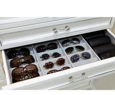 LA Closet Design - Sunglasses storage