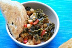 Chickpea, Kale & Sausage Soup by openmouthinsertcookie as adapted from Tamarind and Thyme     #opnemouthinsertcookie