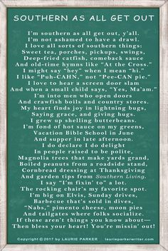 Southern as all get out! Southern Humor, Southern Ladies, Southern Sayings, Southern Pride, Simply Southern, Southern Living, Southern Belle Style, Southern Belle Secrets, Country Living