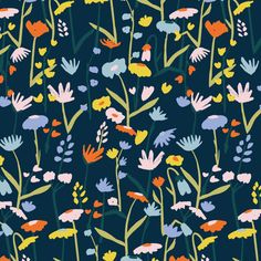 pattern, print, design, graphic, contemporary, floral, summer, spring Graphic Design Pattern, Graphic Patterns, Surface Pattern Design, Textile Patterns, Flower Patterns, Print Patterns, Pattern Print, Fair Isle Pattern, Spring Design