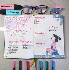 44 Magical Disney Inspired Bullet Journal Ideas Your Inner Child Will Swoon Over Add a little sparkle of magic to your bullet journal with these 44 beautiful Disney Inspired Bullet Journal Layouts. Bullet Journal June, Bullet Journal Notebook, Bullet Journal School, Bullet Journal Spread, Bullet Journal Layout, Bullet Journal Inspiration, Journal Ideas, Bullet Journals, Stabilo Boss