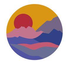 Mountain View, Tweety, Adobe Illustrator, Minimalism, Digital Art, Illustration, Fictional Characters, Adobe Illistrator, Illustrations