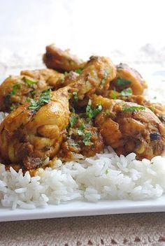 Poulet à la pakistanaise Top Recipes, Indian Food Recipes, Asian Recipes, Cooking Recipes, Healthy Recipes, Carne, Pakistan Food, Middle East Food, Chicken Eating