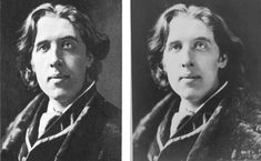 Find out about the difference between these two pictures of Oscar Wilde. My Highlights, Oscar Wilde, The One, Poses, America, Shit Happens, Illustration, Pictures, Image