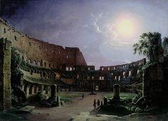 Colosseum on a moonlit night Tchernetsov Nicanor G. 1842