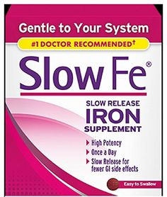 Slow Fe Slow Release Iron Supplement 30 Count per Box ** Click on the image for additional details.