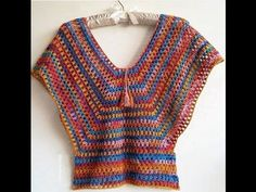 CROCHET TOP - YouTube