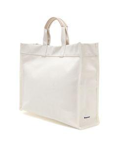 Fennec Raw Tote Bag - L It's simple but I love it Tote Backpack, Tote Bag, Ethnic Bag, Minimalist Bag, Fabric Bags, Shopper Bag, Grab Bags, Cotton Bag, Textiles