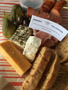 Cowhouse cheese platter