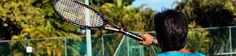 Tennis lessons on a luxury family holiday
