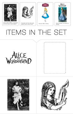 """""""Alice #intro"""" by andreamonso ❤ liked on Polyvore featuring art"""