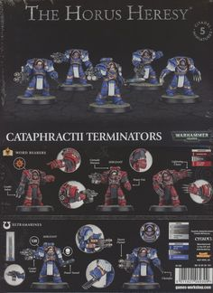 40K Spare Bits and Pieces 158714: Warhammer 40K: The Horus Heresy Cataphractii Terminators (01-02) New -> BUY IT NOW ONLY: $54.95 on eBay!