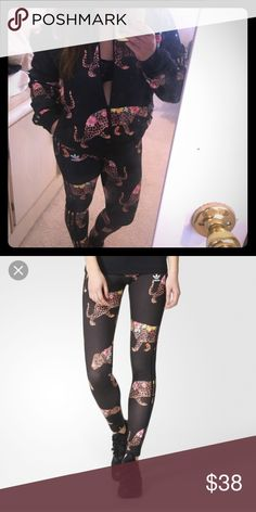 Adidas anaconda leggings. Adidas anaconda leggings. Size small. New with tags. No trades no PayPal. Make an offer. Adidas Pants Leggings