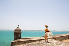 Puerto Rico 2015 in Hermes poncho
