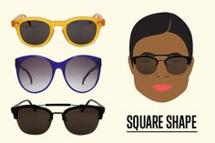 How To Choose The Right Sunnies For Your Face...From This Season's Raddest Styles