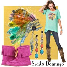 """""""Santo Domingo"""" by doubledranch on Polyvore"""