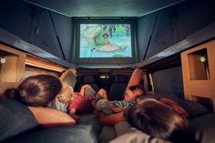The Best Renault Trafic Camper Has Its Own Cinema