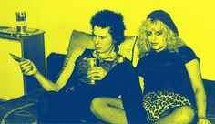Rare Photos of Nancy And Sid Vicious At Johnny Rotten's House In 1978 - Flashbak Sid And Nancy, Joey Ramone, Linda Mccartney, Patti Smith, Keith Richards, Rare Photos, Vintage Photographs, Johnny Rotten, Joanne Woodward