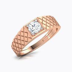 Harry Solitaire Ring for Men Mens Gold Diamond Rings, Gold Finger Rings, Diamond Solitaire Rings, Mens Ring Designs, Gold Ring Designs, Engagement Rings For Men, Designer Engagement Rings, Solitaire Engagement, Gold Rings Jewelry