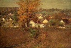 John Ottis Adams - Our village (1902)
