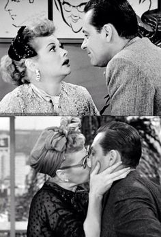 I Love Lucy.... William Holden!