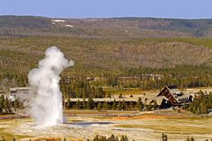 Old Faithful Inn at Yellowstone National Park. Stayed there! Can't wait to go back someday.