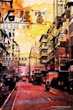 """Saatchi Art Artist Sven Pfrommer; Photography, """"HONG KONG STREETS XI"""" #art"""