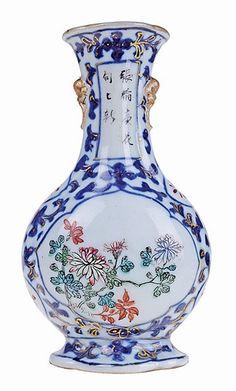 Chinese porcelain, miniature vase
