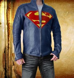 Man of Steel The Superman Jacket which feels me power and aggression ...