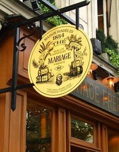 MARIAGE FRÈRES ~ The Temple of Tea in the Marais. A magical shop with every imaginable variety of tea, and a wonderful Tea Salon / Personal Memory
