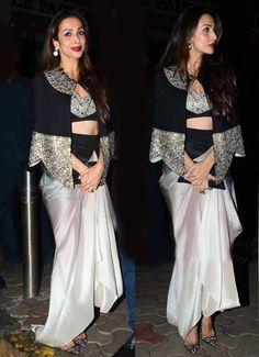 Malaika Arora Khan in Anamika Khanna dress