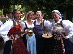 Costume of Villach, Carinthia, Austria