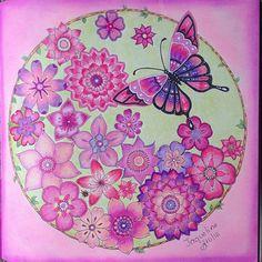 Selva Mágica no Outubro Rosa#boracolorirtop #arte_e_colorir #selvamagicaoficial #colorindolivrostop