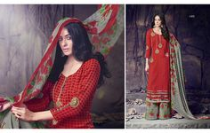 Code - JV-1492 | Price - 3500 Taka  Product Description:- Top: Cotton Print Bottom: Cotton Dupatta: Chiffon  For order please Call / SMS : 01671 517 885