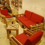 Furniture from pallets