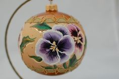 KOLEKCJA KWIATOWA Christmas Balls, Christmas Ornaments, Bulb, Hand Painted, Holiday Decor, Collection, Home Decor, Christmas Baubles, Decoration Home