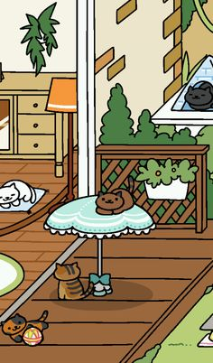The latest Neko Astume update is a sweet treat just in time for Easter. With the update comes four adorable new cats: Apricot, Jeeves, Sapphire, and Ganache. Here's a quick guide on how to get Neko Atsume's latest rare cats. Neko Atsume Wallpaper, Neko Atsume Kitty Collector, Nostalgia Art, Cute Pastel Wallpaper, Rare Cats, Cute Cartoon Drawings, Neko Cat, Wow Art, Cute Doodles