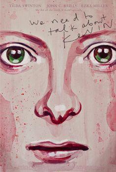 We Need to Talk About Kevin (2011) ~ Alternative Movie Poster by Akiko Stehrenberger #amusementphile