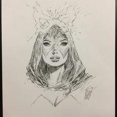 Comic Book Artists, Comic Books Art, Comic Art, Comic Book Drawing, Manga Drawing, Example Of Comics, Marvel Comics, Man Sketch, Marvel Women